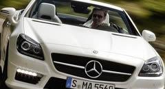 奔驰Benz SLK55 AMG 2012款跑车壁纸