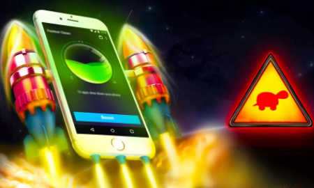 手机游戏瞬时提速 App