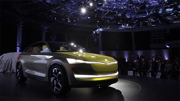 Vision E量产版 斯柯达电动汽车计划曝光